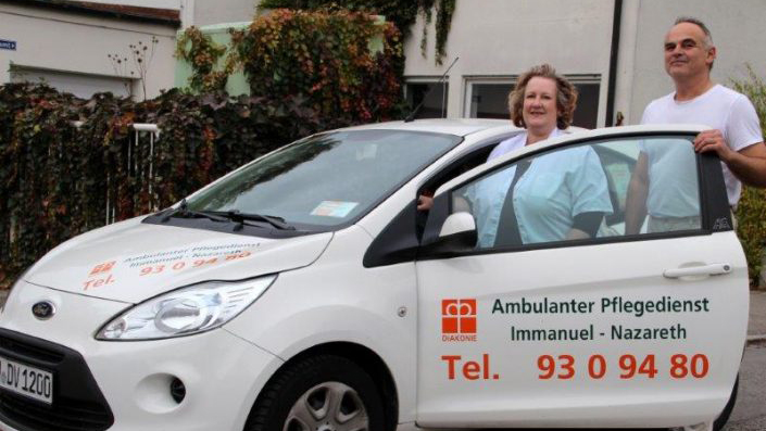 Auto Pflegedienst